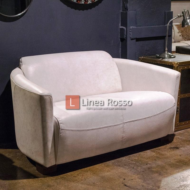 Rocket 2 Seater Vintage Bianco 1 h - Прямые диваны под заказ