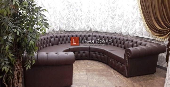 радиусный диванна заказ авторскаямягкая мебель