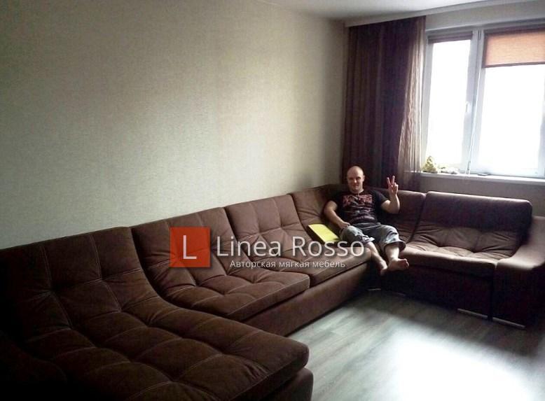 eru5 - П Образный диван