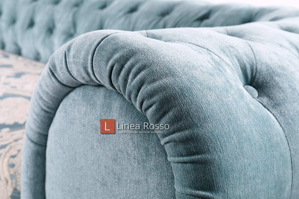 Biryuzovyj divan5 - Бирюзовый диван на заказ