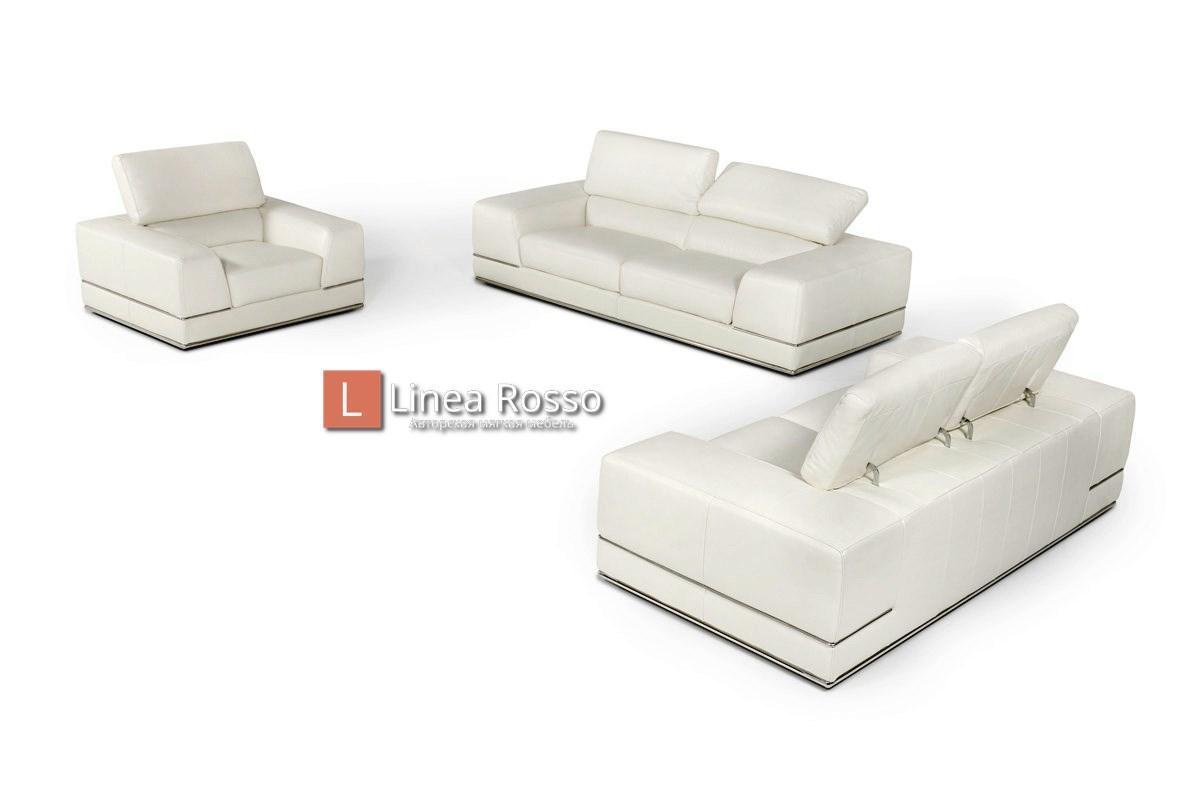 belyj divan1 - Белый диван на заказ