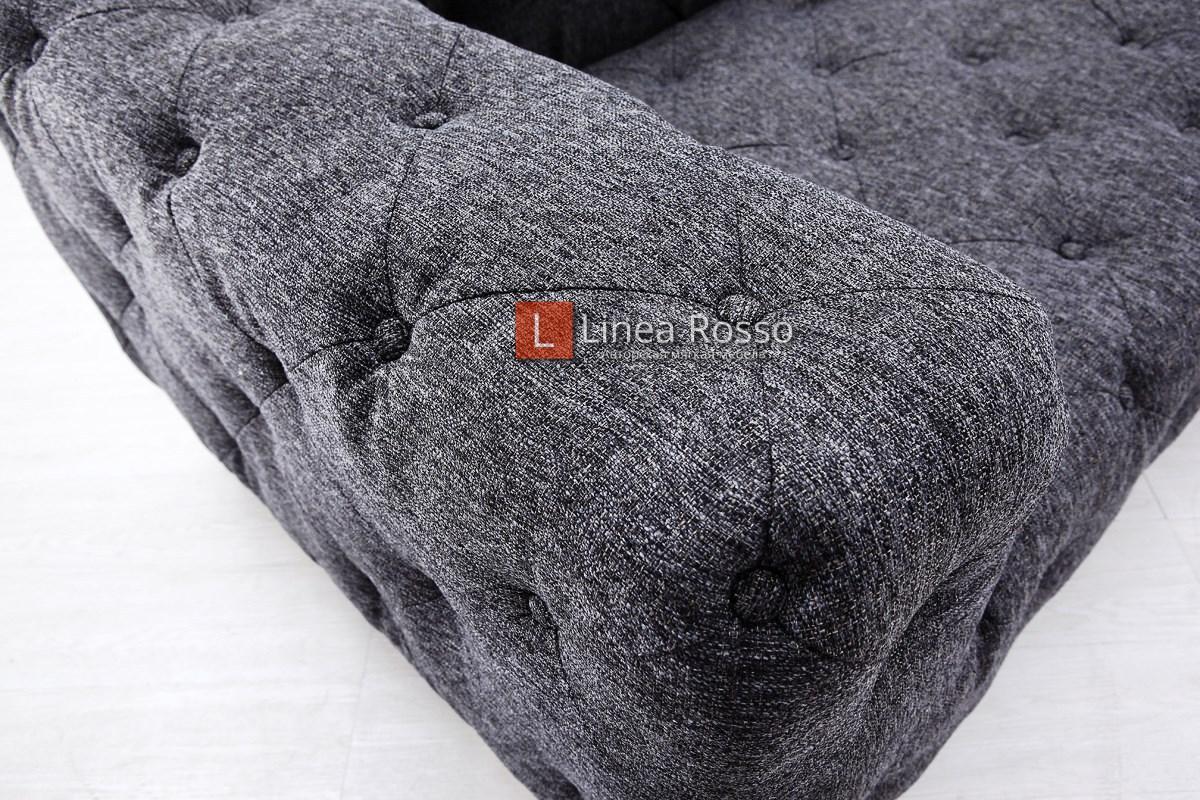 divan temno seryj1 - Темно серый диван на заказ