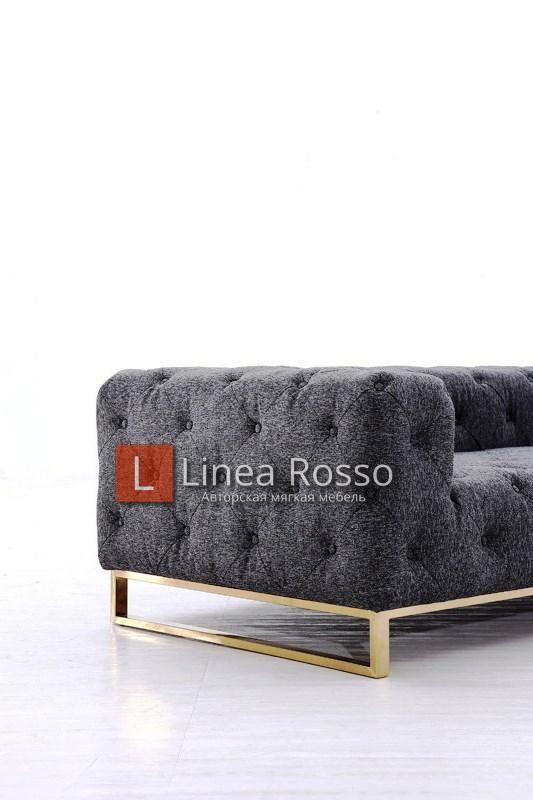 divan temno seryj2 - Темно серый диван на заказ
