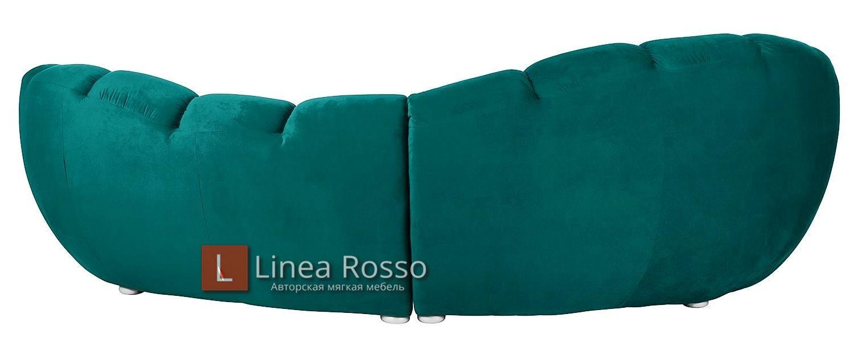 izumrudnyj divan2 - Изумрудный диван на заказ