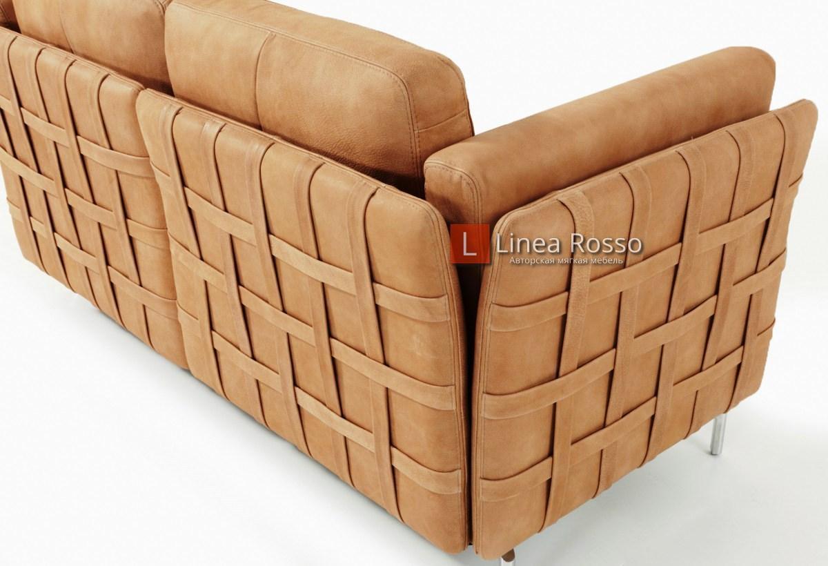 korichnevyj divan4 - Коричневый диван на заказ