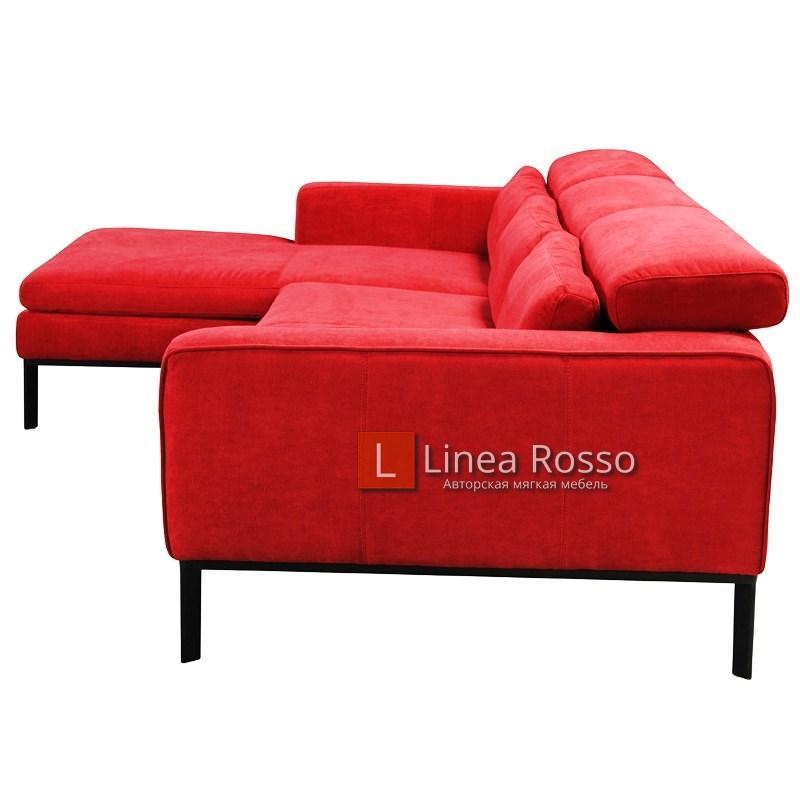 krasnyj modulnyj divan3 - Красный модульный диван