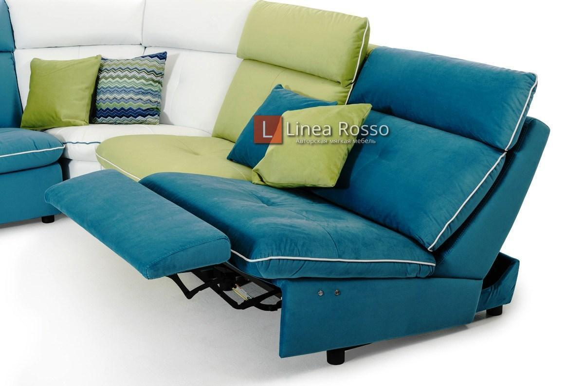 raznotsvetnyj divan3 - Разноцветный диван на заказ