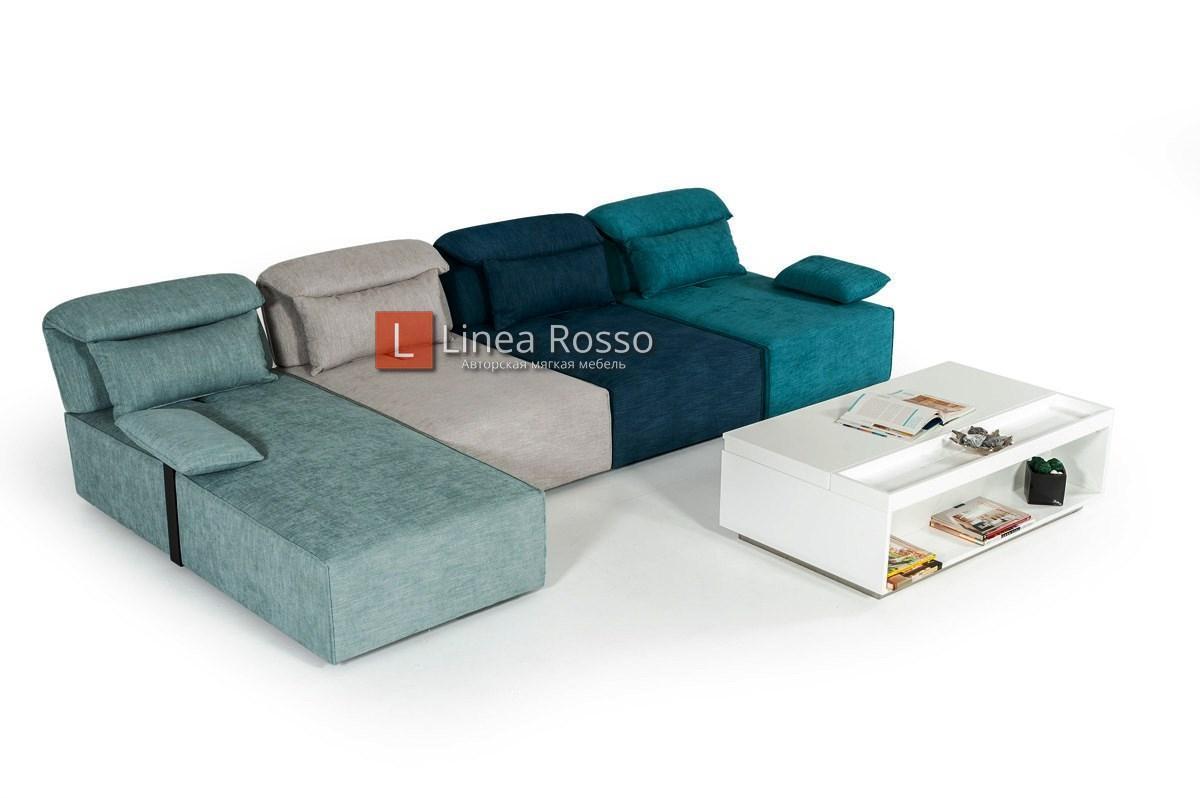 raznotsvetnyj modulnyj divan2 - Модульный разноцветный диван
