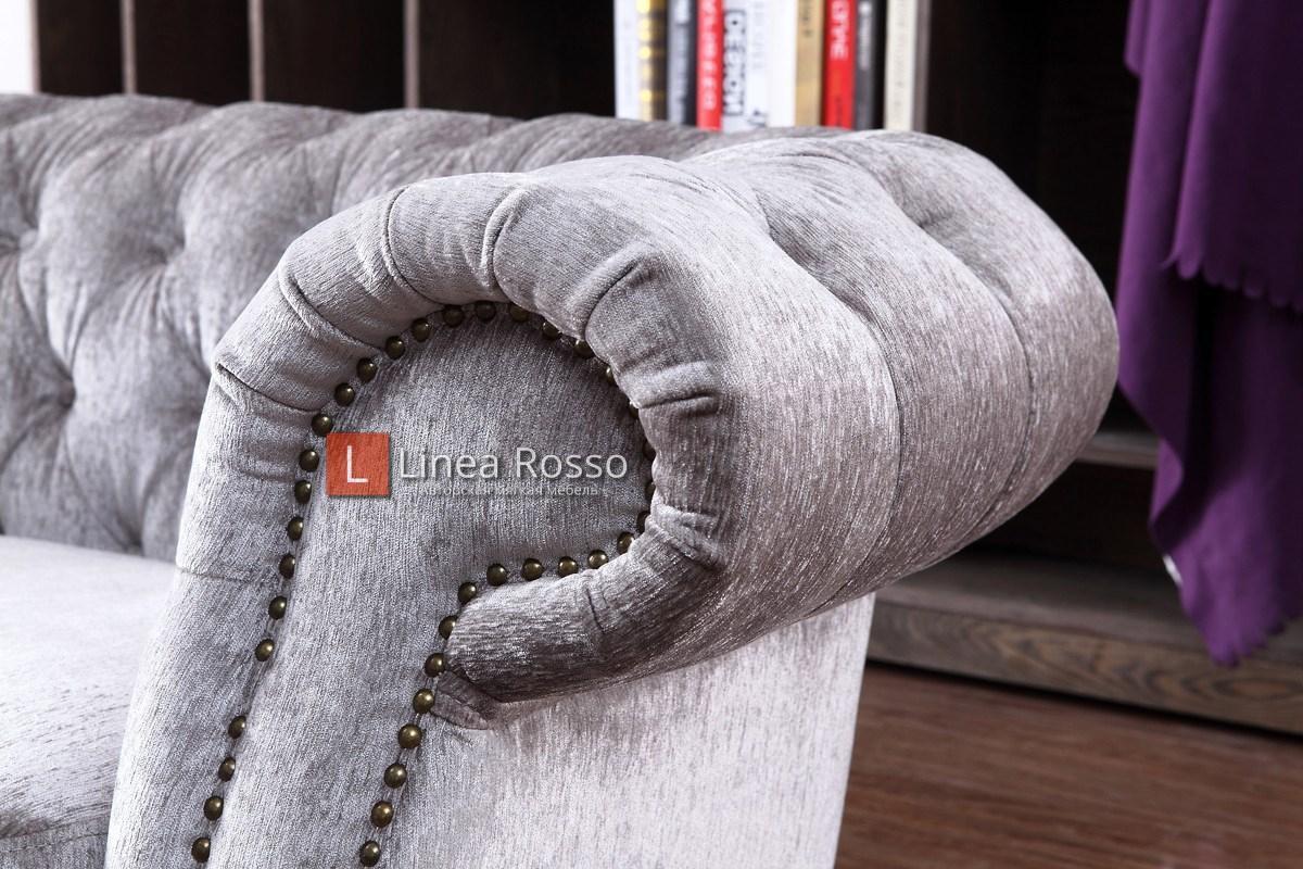 serebristyj divan3 - Серебристый диван на заказ