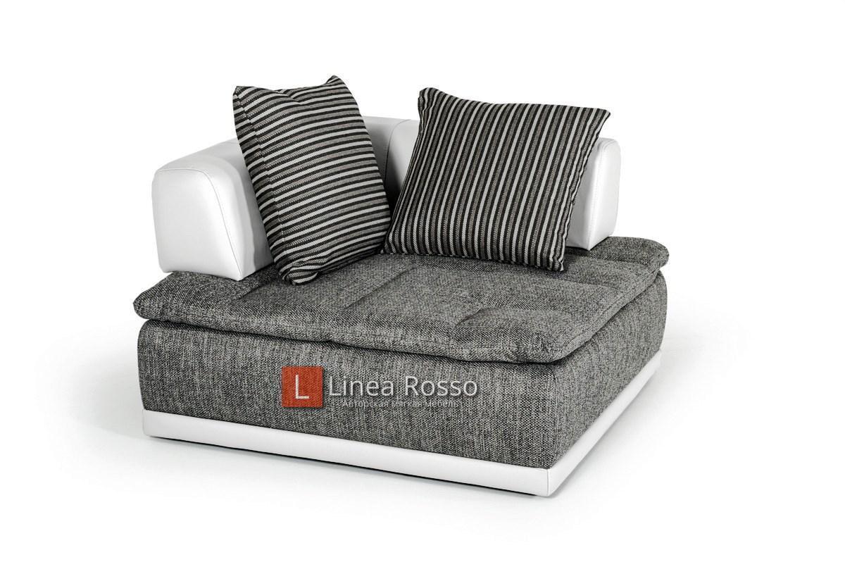 seryj divan iz modulej7 - Серый диван из модулей под заказ