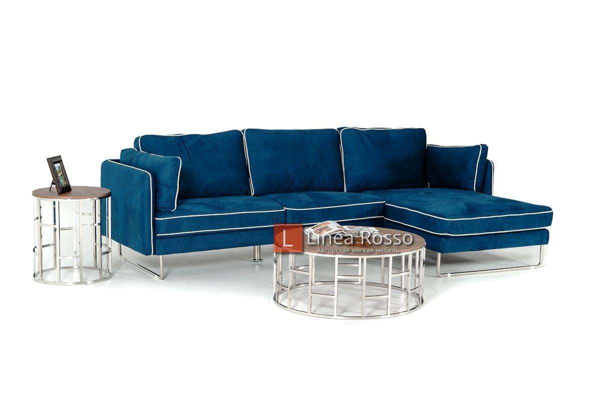 sinij divan - Синий диван на заказ