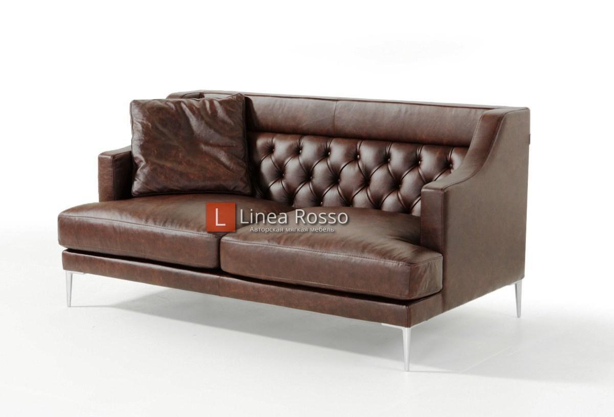 Темно коричневый диван на заказ