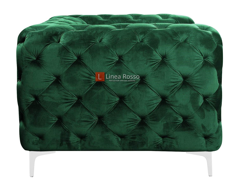 zelenyj divan v pikovke2 - Зеленый диван в пиковке под заказ