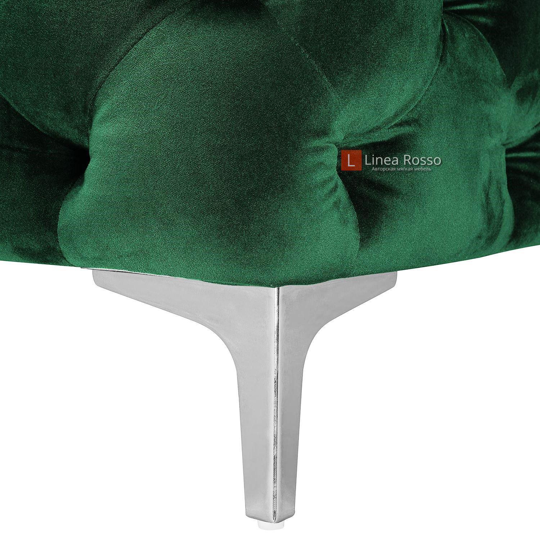 Зеленый диван в пиковке под заказ