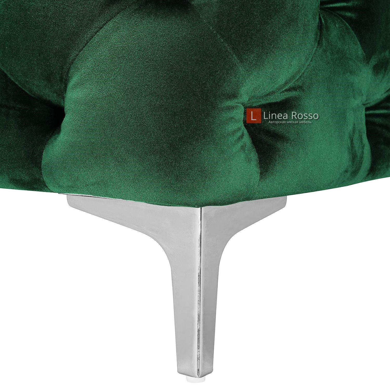 zelenyj divan v pikovke7 - Зеленый диван в пиковке под заказ