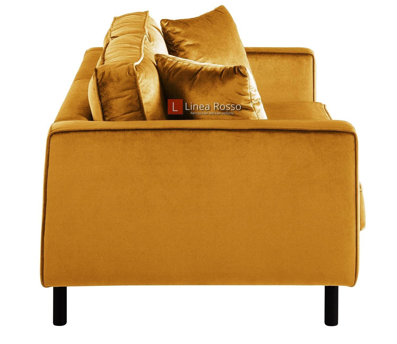 Золотой диван на заказ