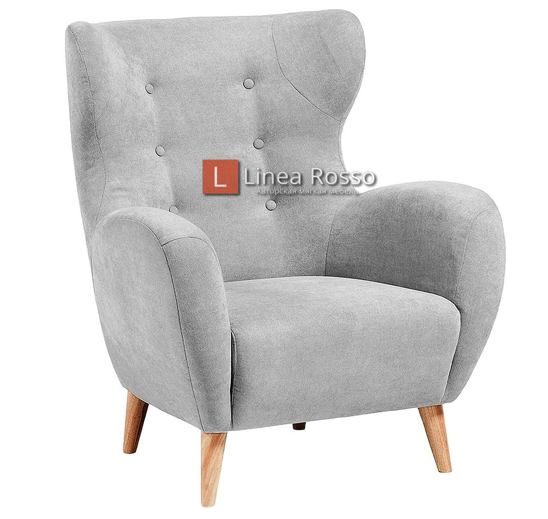 Svetlo seroe kreslo - Светло серое кресло на заказ