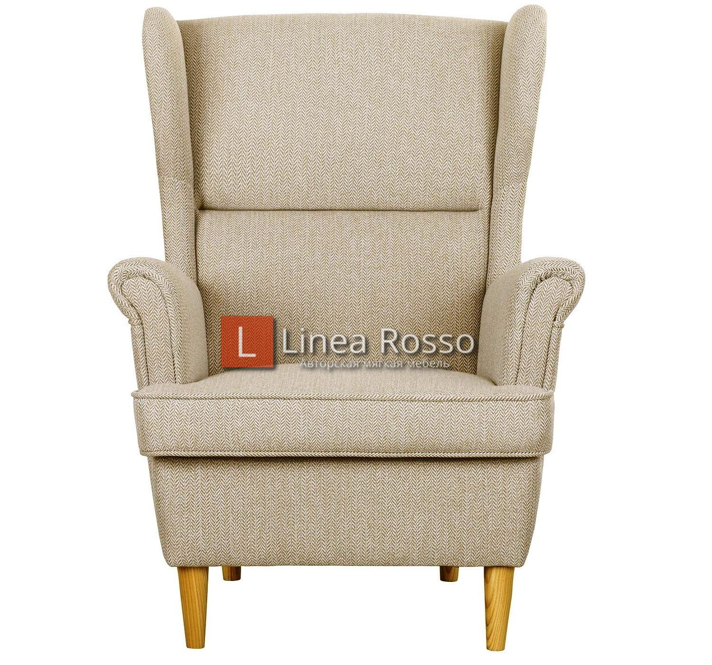 bezhevoe kreslo1 - Бежевое кресло на заказ