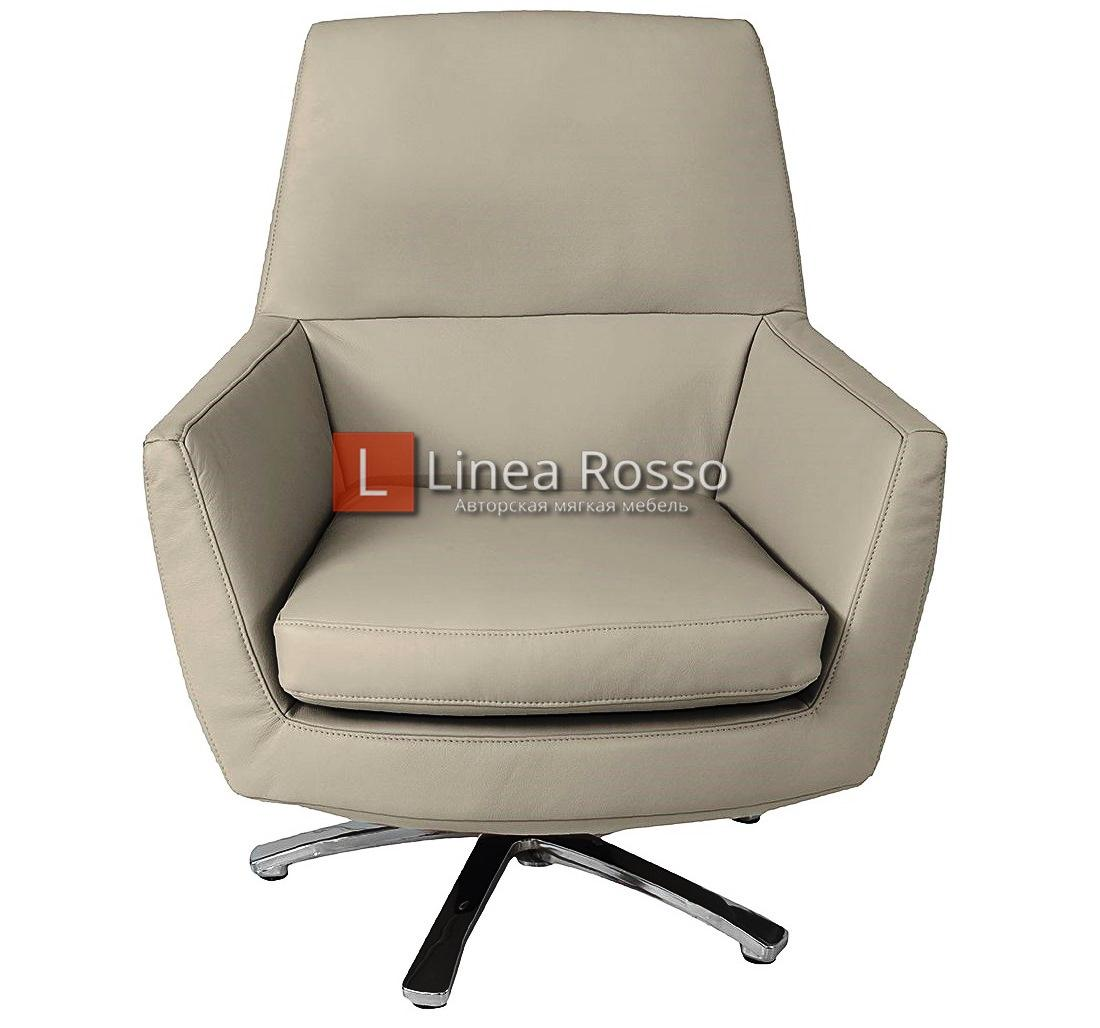 Кожаное кресло на заказ