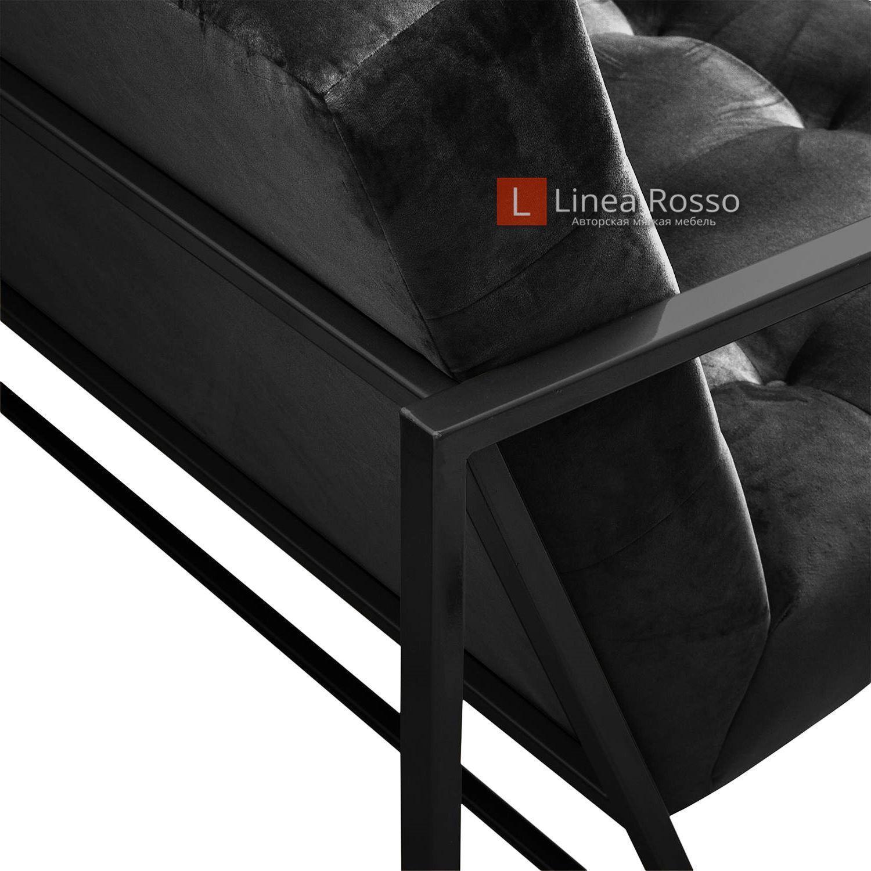 Кресло на металлическом каркасе на заказ