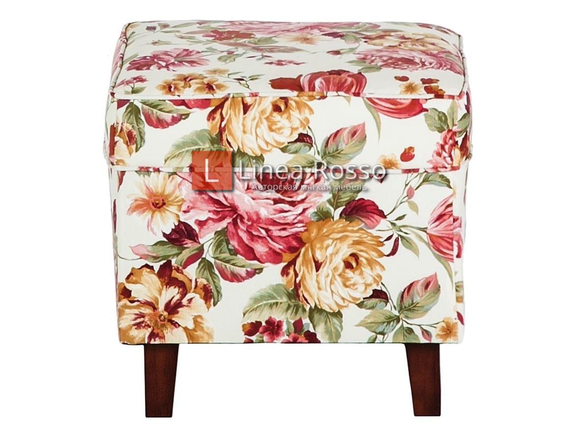 kreslo v tsvetochnyj print2 - Кресло с цветочным принтом на заказ
