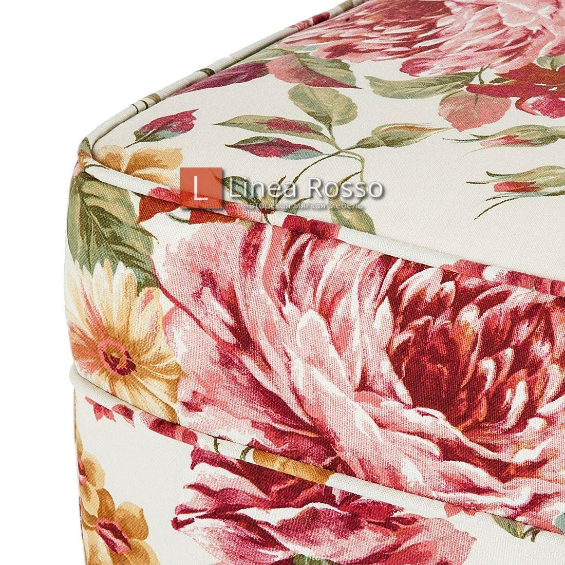 kreslo v tsvetochnyj print3 - Кресло с цветочным принтом на заказ