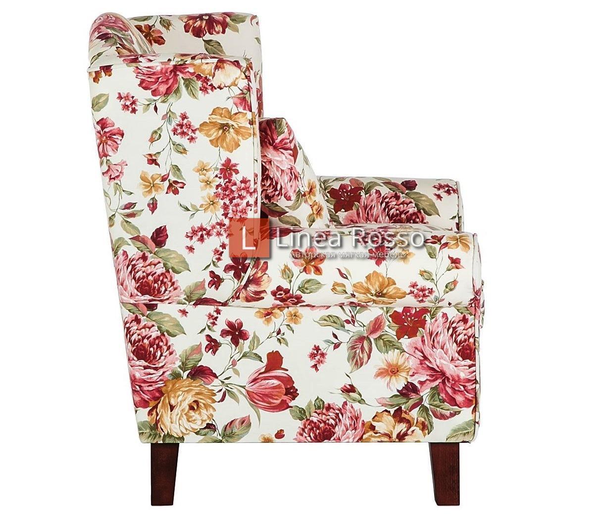 kreslo v tsvetochnyj print5 - Кресло с цветочным принтом на заказ