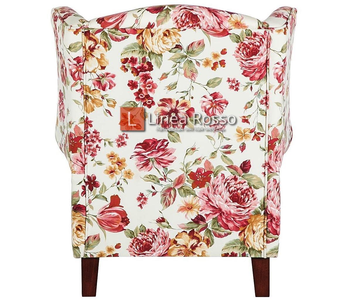 Кресло с цветочным принтом на заказ