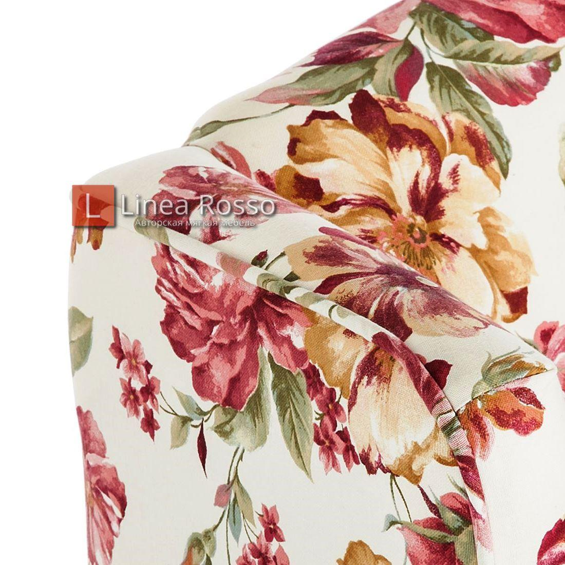 kreslo v tsvetochnyj print7 - Кресло с цветочным принтом на заказ