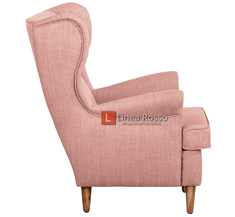 rozovoe kreslo2 - Розовое кресло на заказ