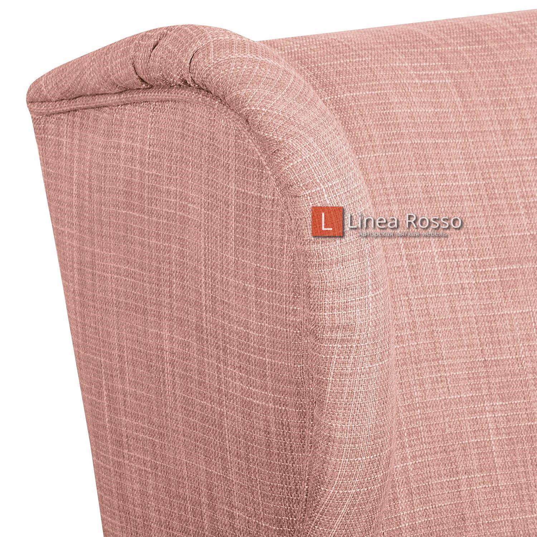 rozovoe kreslo4 - Розовое кресло на заказ