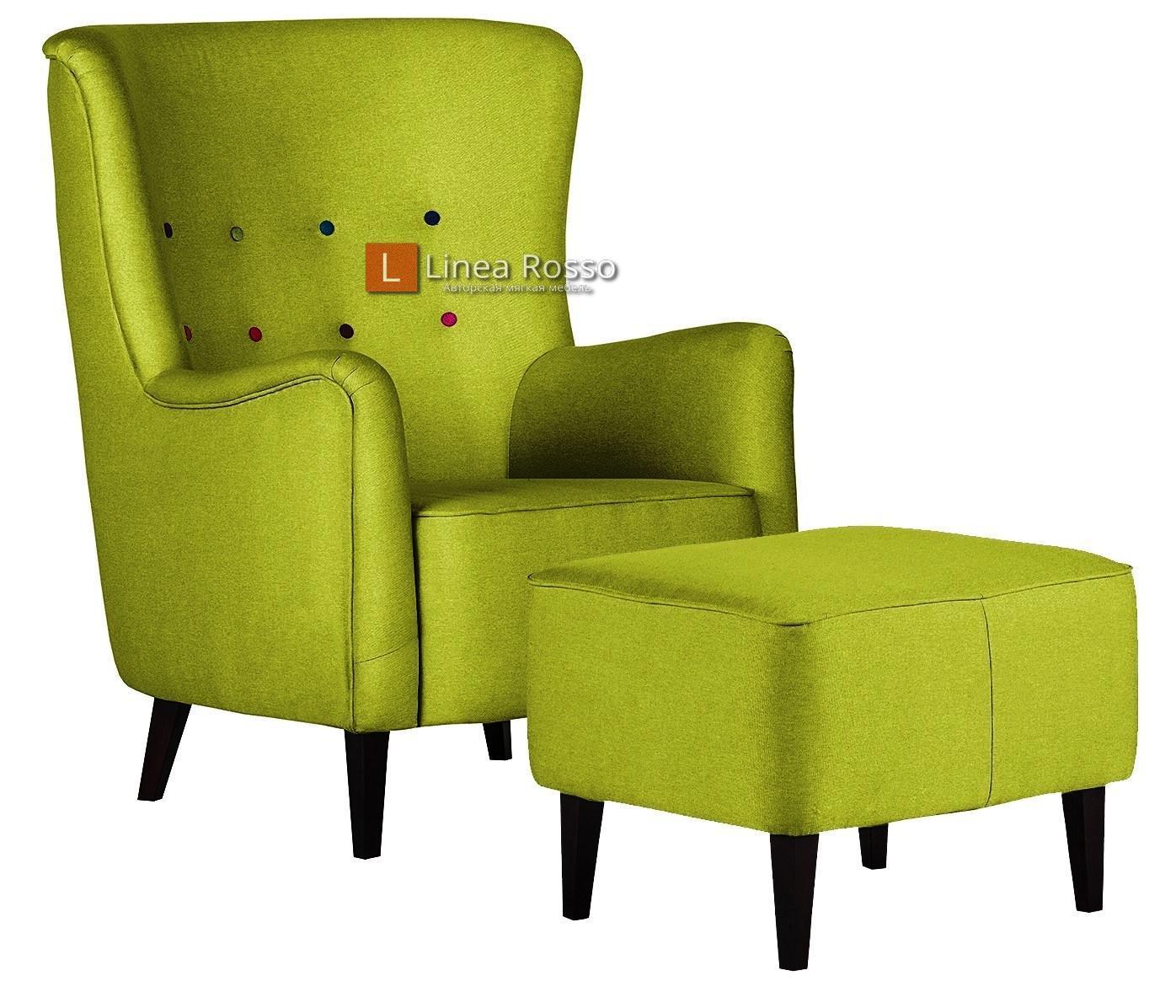 salatovoe kreslo - Кресло в салатовом цвете на заказ