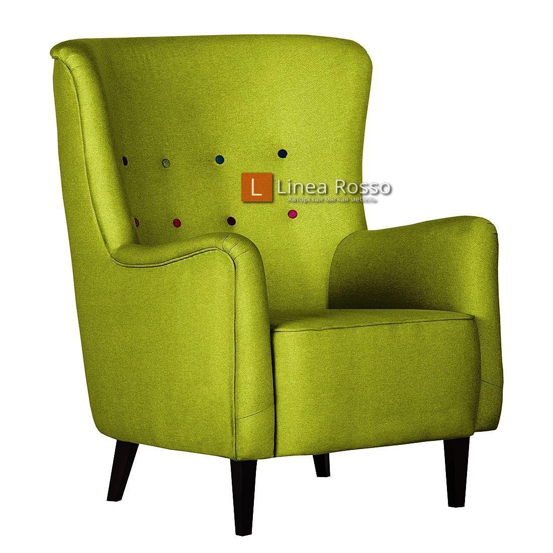 salatovoe kreslo1 - Кресло в салатовом цвете на заказ