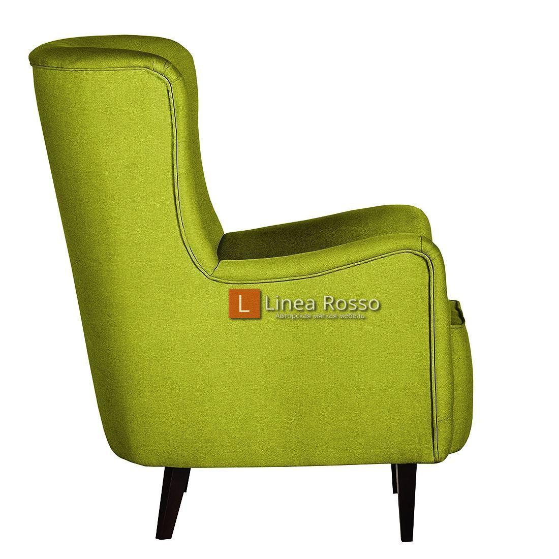 salatovoe kreslo4 - Кресло в салатовом цвете на заказ