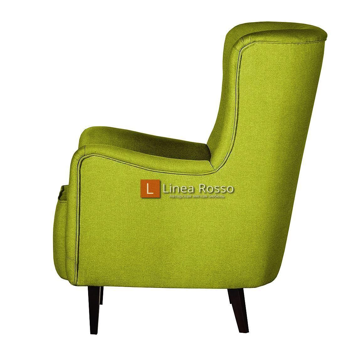 salatovoe kreslo5 - Кресло в салатовом цвете на заказ