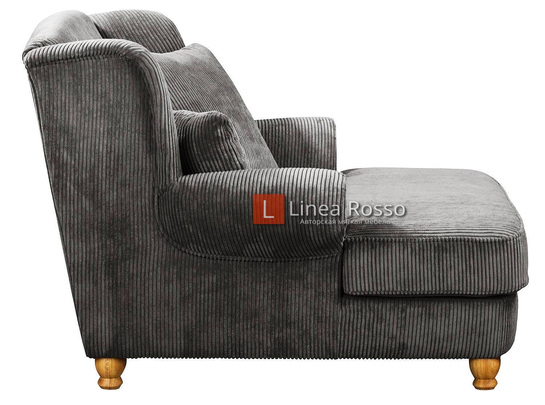 velvetovoe kreslo2 - Вельветовое кресло на заказ