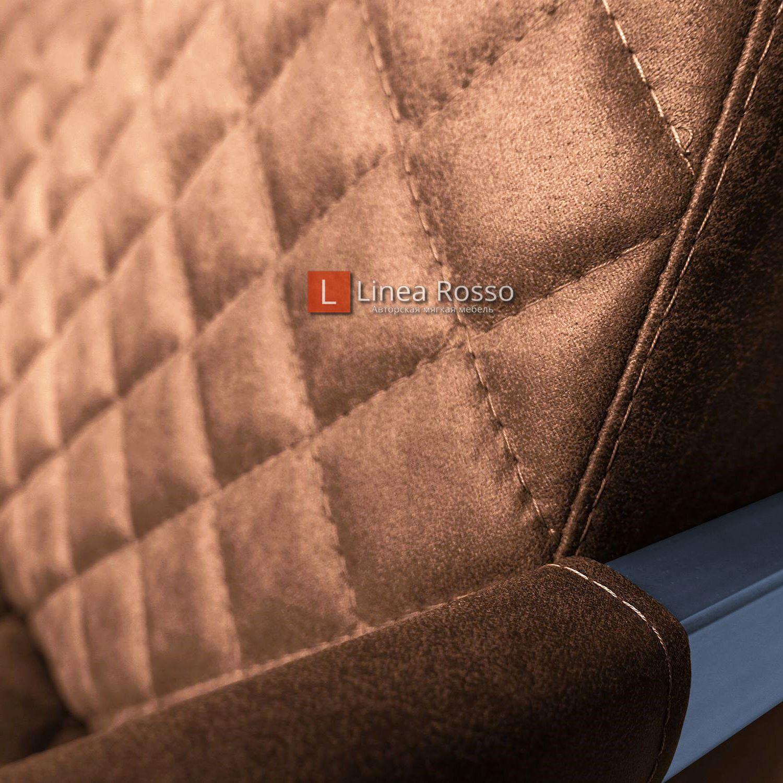 zamshevoe kreslo6 - Кресло в замшевой ткани на заказ