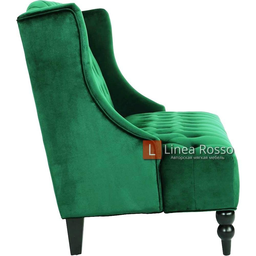 zelenyj divan3 - Зеленый диван на заказ