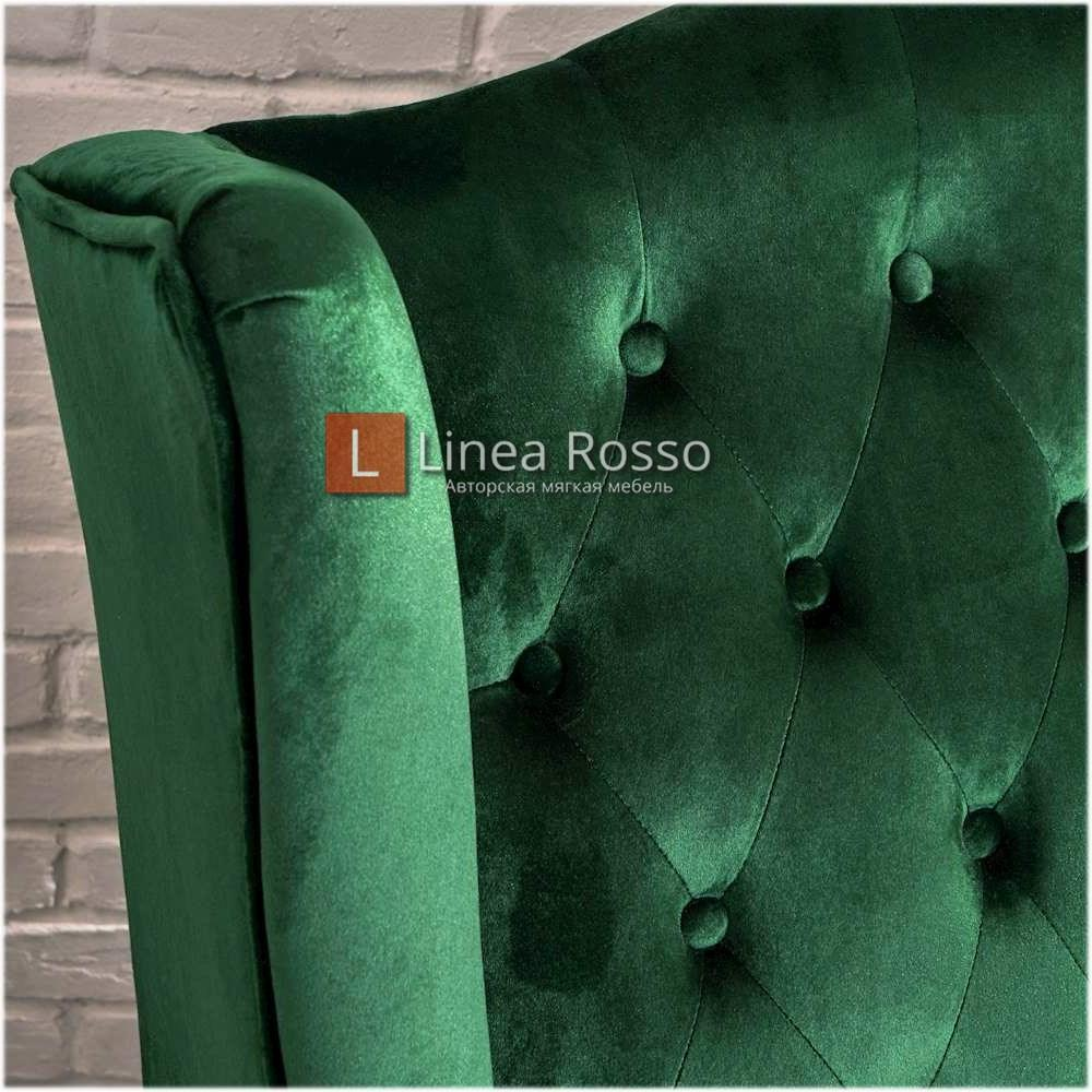 zelenyj divan5 - Зеленый диван на заказ