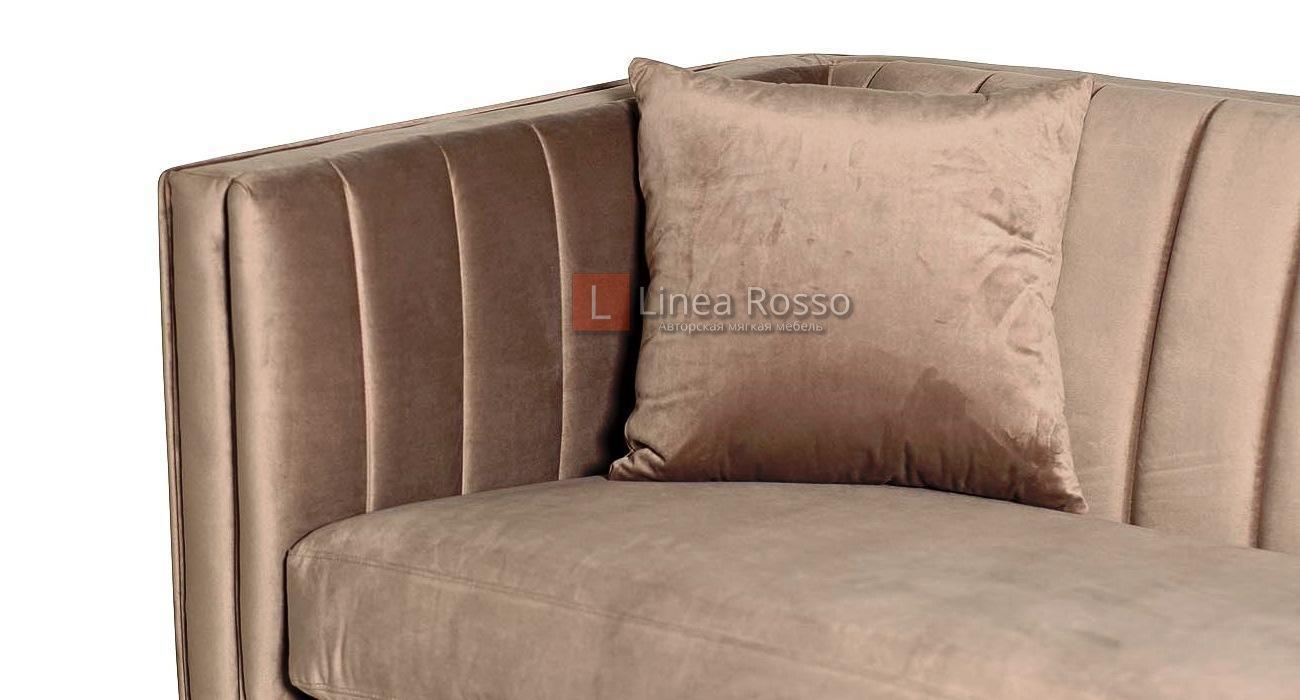 sero bezhevyj divan2 - Серо бежевый диван на заказ