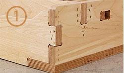 reinforced joinery medium