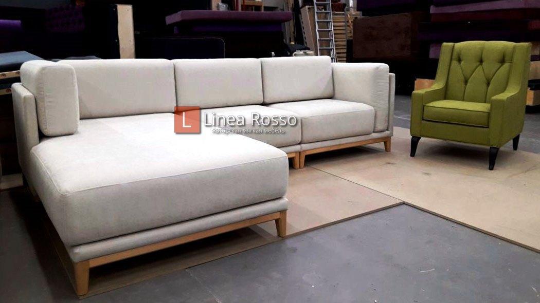 Угловые диваны под заказ
