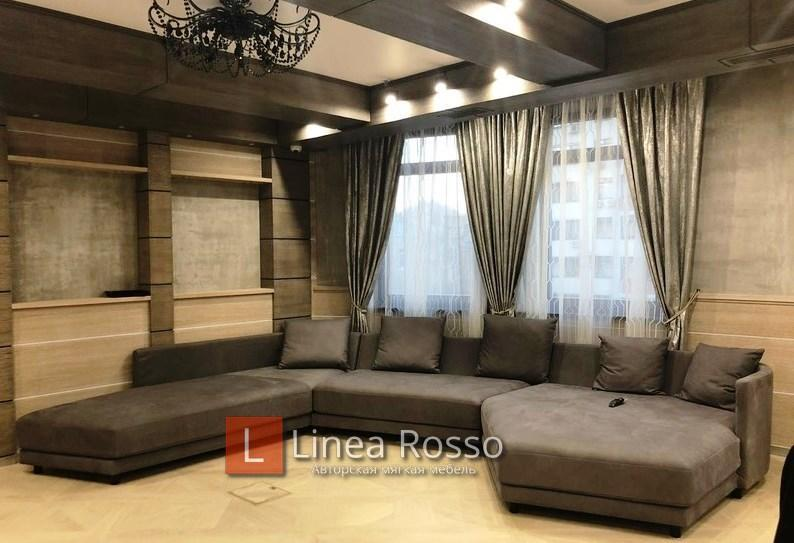 Большой диван под заказ в Киеве